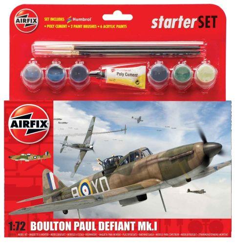 AIRFIX A55213 BOULTON PAUL DEFIANT STARTER KIT