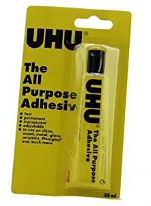 UHU® ALL PURPOSE GLUE - 35ml BLISTER