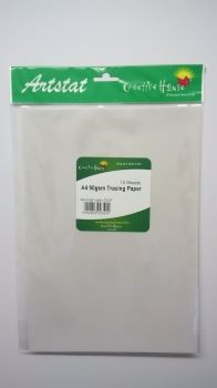 A4 90gsm TRACING PAPER PACK 10 SHEETS CREATIVE HOUSE