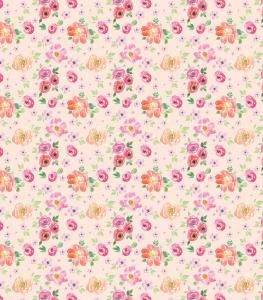 Peach Bloom Decoupage Paper 35 x 40cm pk 3
