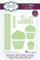 Creative Expressions Necessities Collection Treat Yourself Cupcakes Die