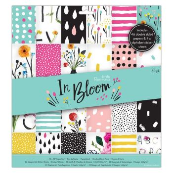 "12 x 12"" Paper Pad (50pk) - In Bloom"