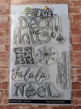 Deck the Halls : IDC164  - A6 Stamp set