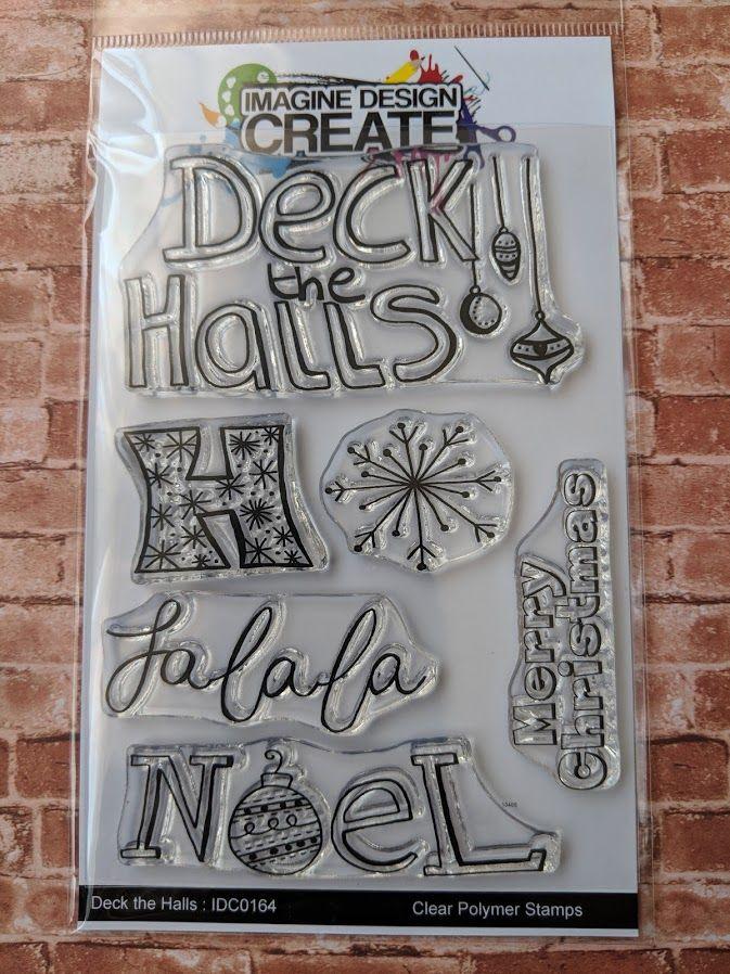 Deck the Halls : IDC164  - A6 Stamp set