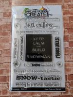 Snowtastic : IDC167  - A6 Stamp set