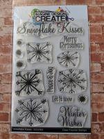 Snowflake Kisses : IDC163  - A6 Stamp set