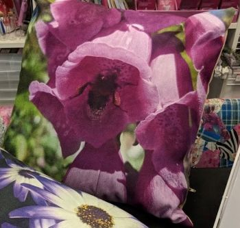 "Bee-utiful : 12 x 12"" (approx) Cushion cover with cushion inner"