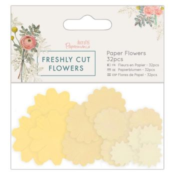 Paper Flowers (32pcs) - Freshly Cut Flowers