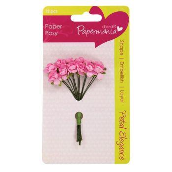 Petal Posy (12pcs) - Pale Pink Rose