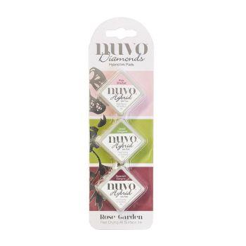 Tonic Studios Nuvo - Diamond Hybrid Ink Pads - Rose Garden
