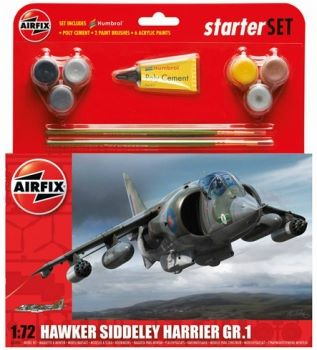 Airfix A55205 Harrier GR1 Starter Set