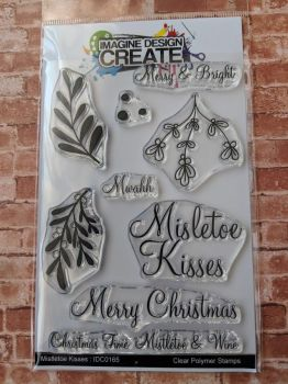 *ooops! Mistletoe Kisses - A6 stamp set