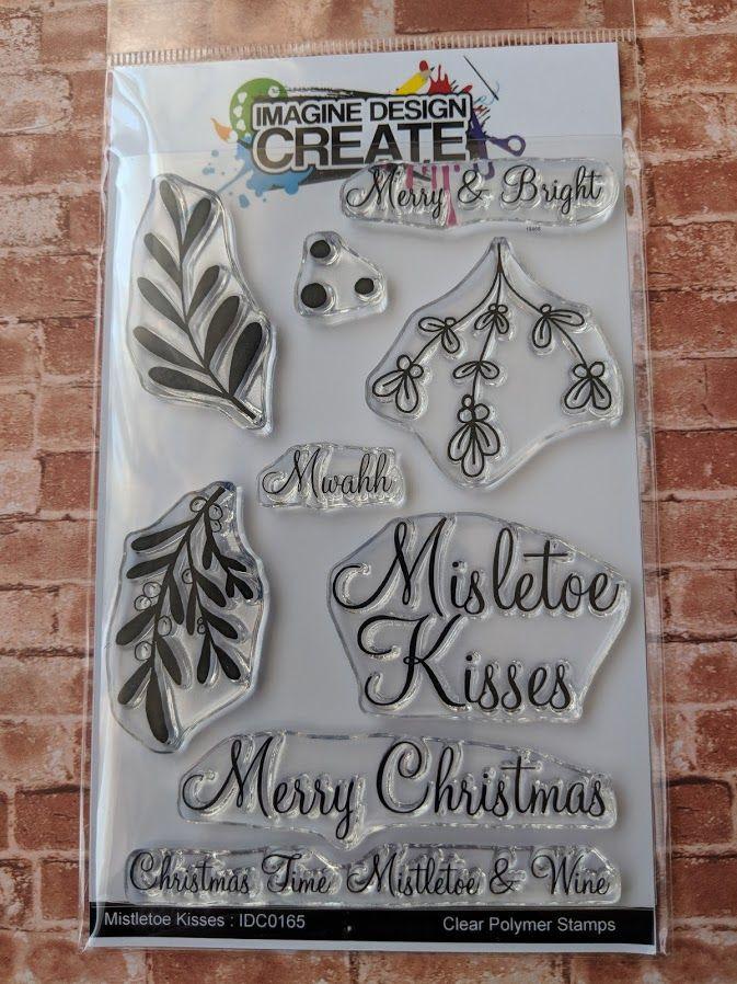 *ooops! Mistletoe Kisses - A6 stamp set