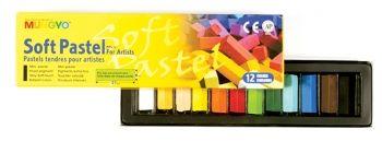 Mungyo Soft Pastels 1/2 length - 12's