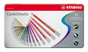 CARBOTHELLO PASTEL PENCILS - TIN OF 12