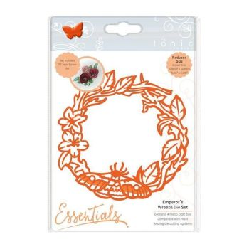 Tonic Studios - Bramble Frame Die Sets - Emperor's Wreath