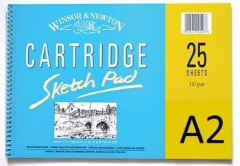 Winsor and Newton Cartridge Spiral 25 Sheet Pad A2