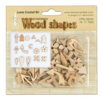 Leane Creatief Wood Shapes - Little Signs