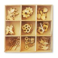 Crafts Too Wooden Elements Shapes - Spring
