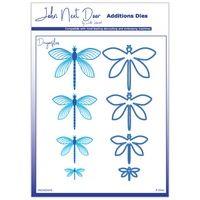 John Next Door Additions Dies - Dragonflies (8pcs)