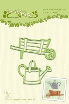 Lea-bilities Cutting and Embossing Die - Barrow & Watering Can