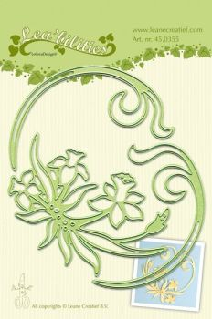 Lea-bilities Cutting and Embossing Die - Daffodil & Swirls