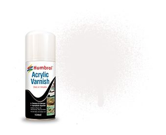 Humbrol 135 Satin Varnish 150ml Acrylic Spray