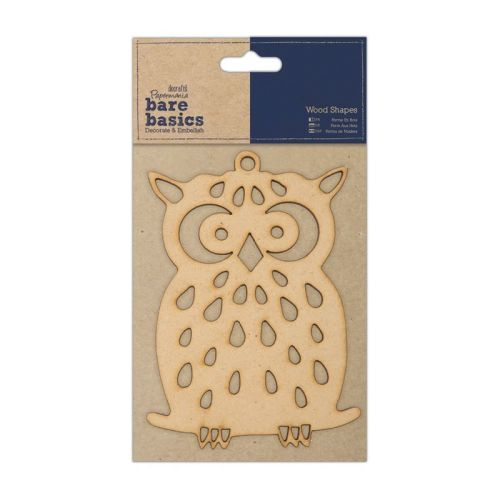 Bare Basics - Wood Shapes - Owl