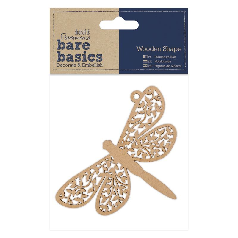 Wooden Shape - Dragonfly