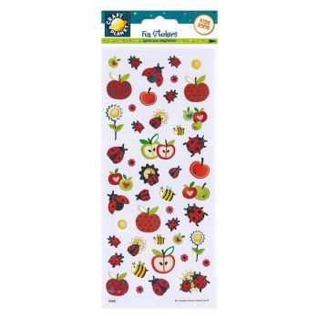 Fun Stickers - Ladybirds