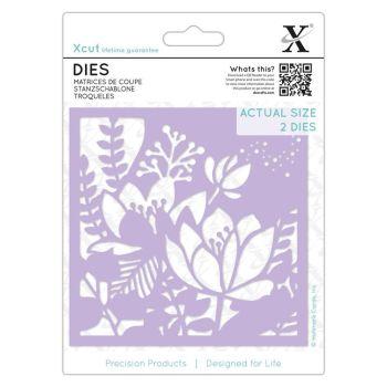 Dies (2pcs) - Lilies