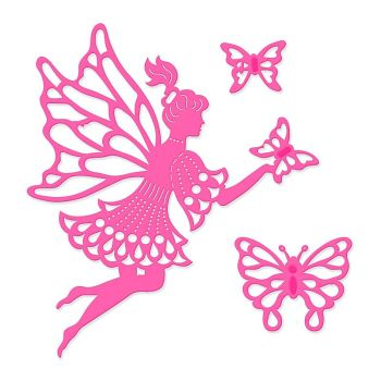 Sweet Dixie Fairy And Butterflies Die