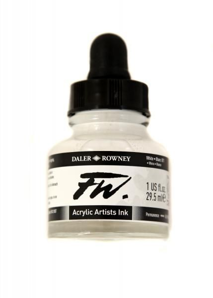 Daler Rowney Artists Acrylic Ink - White