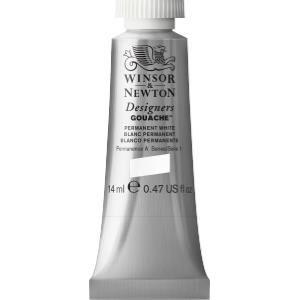Winsor & Newton Designers Gouache - 14ml - Permanent White