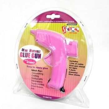 Stix 2 mini hot melt glue gun.