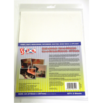 Stix2 Iron on Adhesive for Delicate Materials