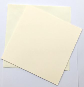 Stix2 8 x 8 Ivory 300GSM Card and Envelope