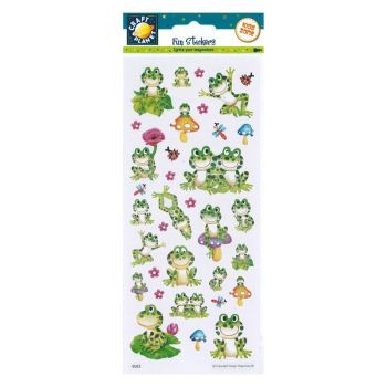 Fun Stickers - Frogs
