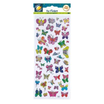 Fun Stickers - Butterfly