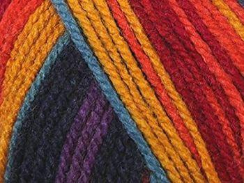 Stylecraft Yarn Wondersoft Merry Go Round DK - Dark Rainbow