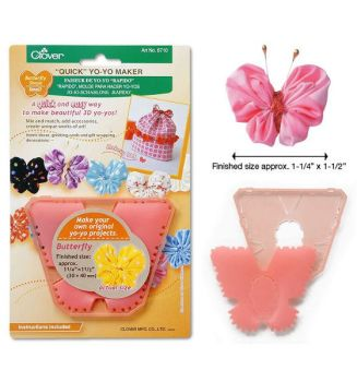 Clover Butterfly Shaped Yo-Yo Maker: Small