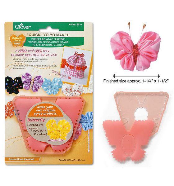 Clover Butterfly Shaped Yo-Yo Maker: Small