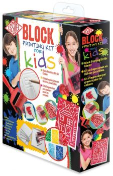 Block Printing Kit for Kids