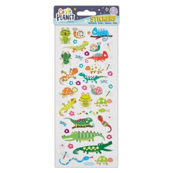 Fun Stickers - Crocs and Lizards