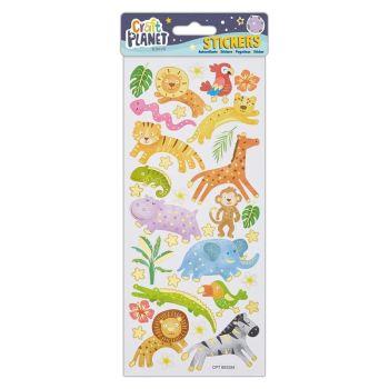 Fun Stickers - Jungle Animals