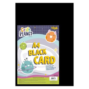A4 Card (10pk) - Black