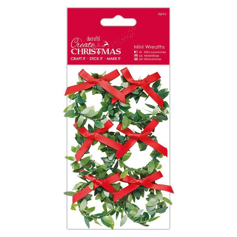 Mini Wreaths (6pcs) - Create Christmas