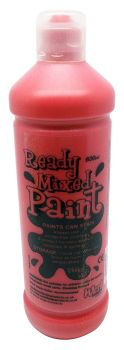 Ready Mixed Paint 600ml - Brilliant Red