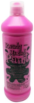 Ready Mixed Paint 600ml - Cerise