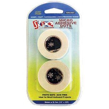 Stix 2 Micro Dots on a Roll 9mm x 9.1m
